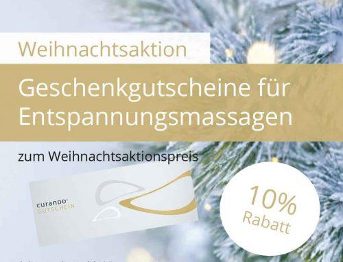 Weihnachtsaktion 10% Rabatt